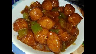 restaurant style chilli soyabean bnaye ghr pr