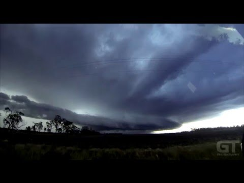 Darling Downs Supercell Timelapse - 23rd December, 2015