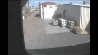Imperial Valley Press Security camera Captures 7.2 Earthquake April 4th 2010