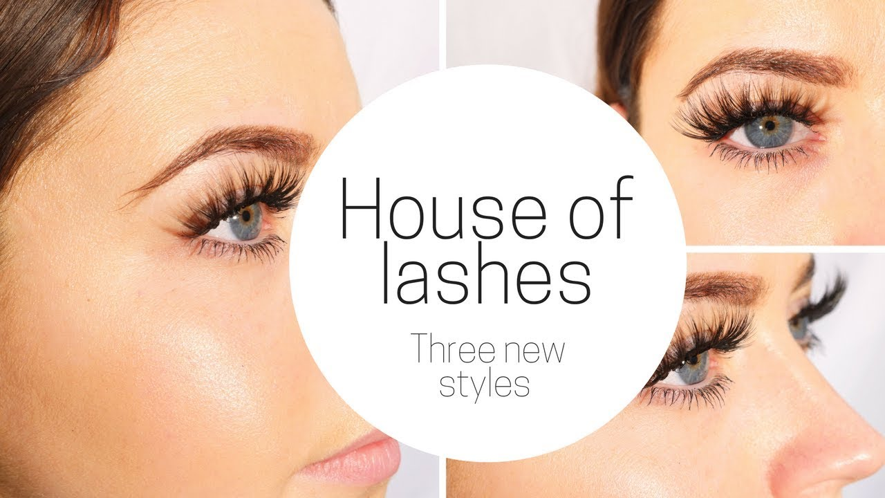 b3831b7796a HOUSE OF LASHES - THREE NEW STYLES - YouTube