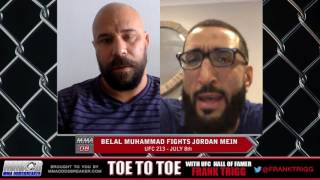 Frank Trigg pre-fight interview with UFC 213's Belal Muhammad (Part 2)