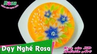 Hướng dẫn làm Rau câu 3D Hoa Cúc - Daisy Jelly flower cake