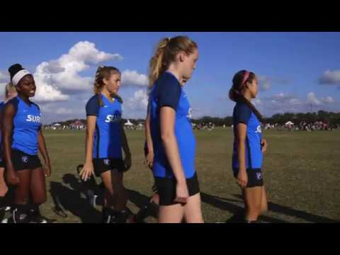 San Diego Surf U-18/19 Soaking in Inaugural Girls' Development Academy Winter Showcase