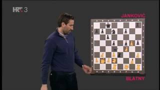 Kako igra naš šahovski komentator, velemajstor Janković