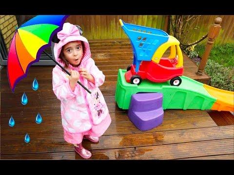 Rain Rain Go Away Song - Cozy Coupe Ride On Slide
