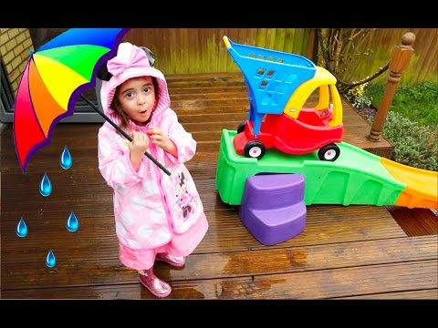 Rain Rain Go Away Sg  Cozy Coupe Ride  Slide