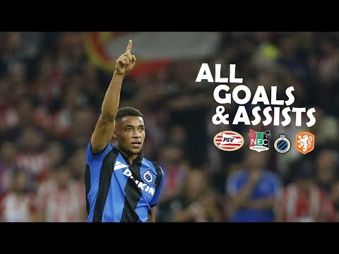 """Danjuma"" Groeneveld • All Goals & Assists in Career So Far • PSV, NEC, Club Brugge, Netherlands"