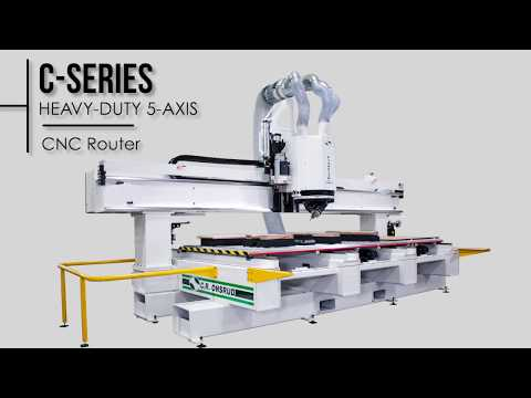 5-Axis C-Series | Table Leg & Door Demo | by C.R. Onsrud