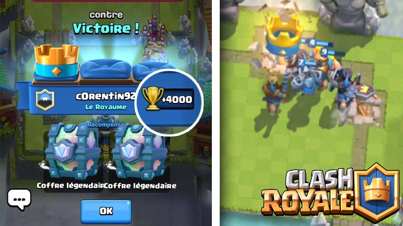 clash royale meilleur deck arene 7 8 9 pour monter legende