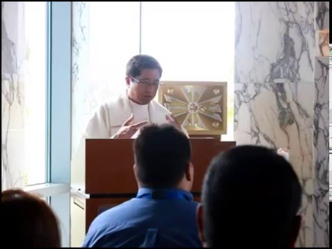 VIDEO Part I: New Year's Mass in the GRMC Chapel