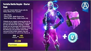 "HOW TO GET THE NEW ""GALAXY"" SKIN (Fortnite Battle Royale ""GALAXY STARTER PACK"" Gameplay UPDATE)"