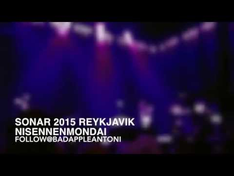 NISENNENMONDAI - LIVE @ Sonar 2015 Reykjavik Music Festival (Iceland)