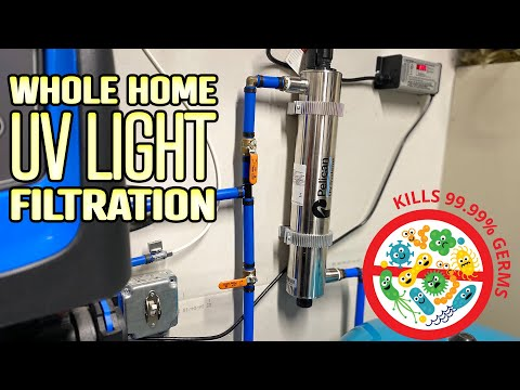 Installing a UV Light Water Filtration System