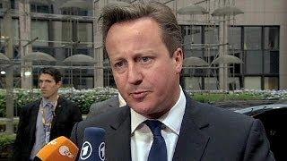 بعد يومين على انتهاء الانتخابات الاوروبية. قمة اوروبية في بروكسل.