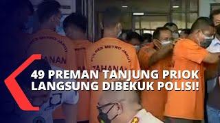 Usai Jokowi Telpon Kapolri, 49 Preman Tanjung Priok yang Resahkan Sopir Truk Langsung Dibekuk Polisi