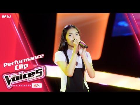 The Voice Thailand - ชมพู ชนม์ชนก - อยู่อย่างเหงาๆ - 25 Sep 2016