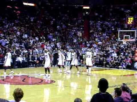 MIAMI HEAT INDIANA PACERS 2011
