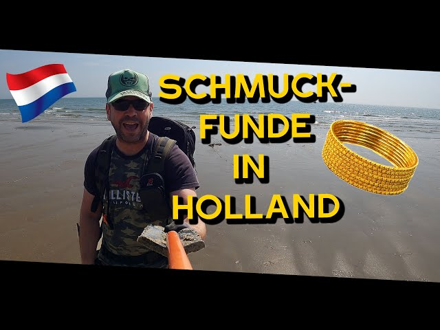 Schatzsuche am Strand in Holland - VLOG 33