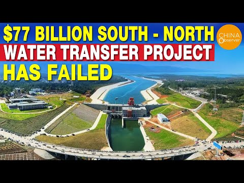 $ 77 Billion World's Largest Water Transfer Project Has Failed | China's Mega Project Failed