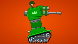 ТАНК БАШНЯ против Маленьких Танков в Хилс оф стил #32 Обновление в Hills of steel с Кидом на мк