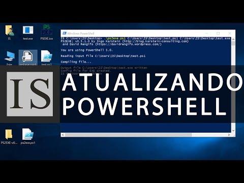Como Atualizar o Powershell no Windows 7