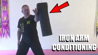 HARDCORE IRON ARM TRAINING | Sifu Steven Burton