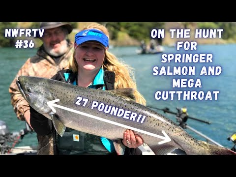 NWFRTV#36 | Drano Lake Springers & Lake Sammamish Cutthroat