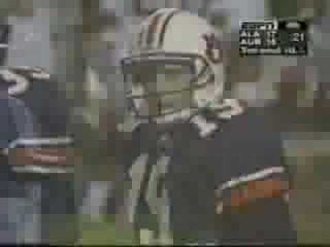 IRON BOWL Auburn vs Alabama 1997