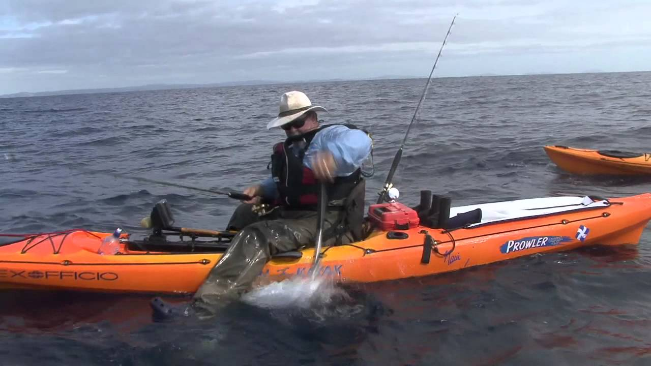 Kayak fishing protecting your gear youtube for Kayak accessories fishing