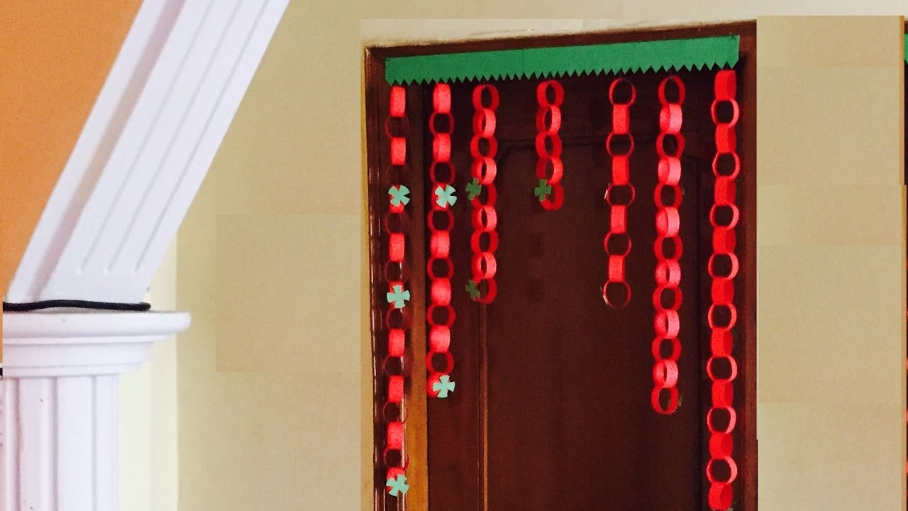 Superbe Paper Garland Door Decor Jhalar Diy Hanging Decoration