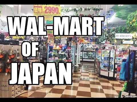 Don Quijote - The Walmart of Japan
