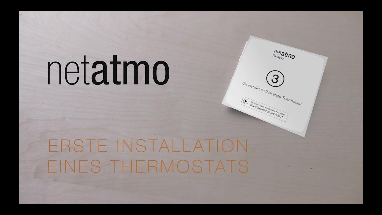 Sie installieren ihre erste Thermostat - YouTube