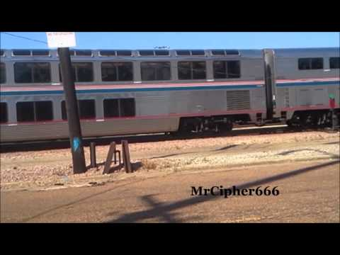 """Amtrak's """"City of New Orleans"""" Jackson, MS 10/18/2014"""
