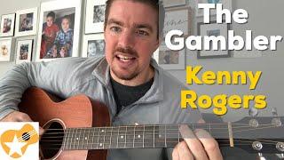 Download Lagu The Gambler Kenny Rogers Beginner Guitar Lesson MP3