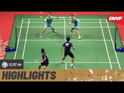 TOYOTA Thailand Open | World junior champions Carnando/Marthin seek another giant scalp