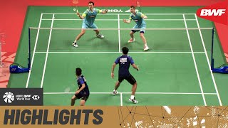 TOYOTA Thailand Open | World junior champions Carnando/Marthin seek another giant scalp