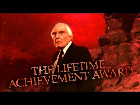 Angus Scrimm Video Tribute 19262016   NYC Horror Film Fest Lifetime Achievement Award