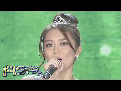 Kathryn Bernardo sings 'You Don't Know Me' on ASAP