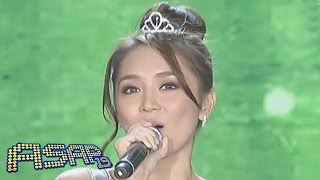 vuclip Kathryn Bernardo sings 'You Don't Know Me' on ASAP