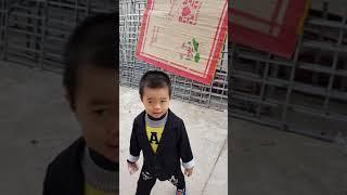 Bé Gia Phúc nô đùa 09/12/2017. Thổ Tang - Vĩnh Tường - Vĩnh Phúc