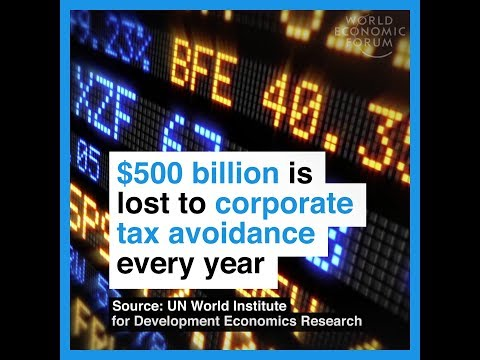 $500 billion is lost to corporate tax avoidance every year
