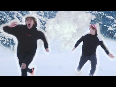 Thumbnail: WE ESCAPED AN AVALANCHE! (Raw Footage)