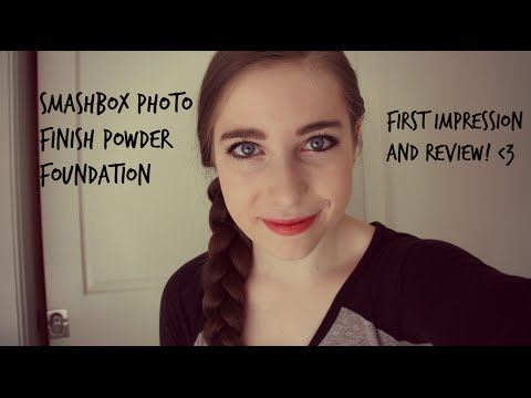 Smashbox Photo Filter Foundation First Impressions Review Youtube