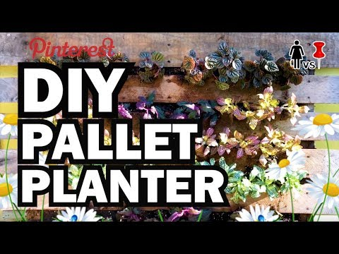 DIY Pallet Planter, Corinne VS Pin #35