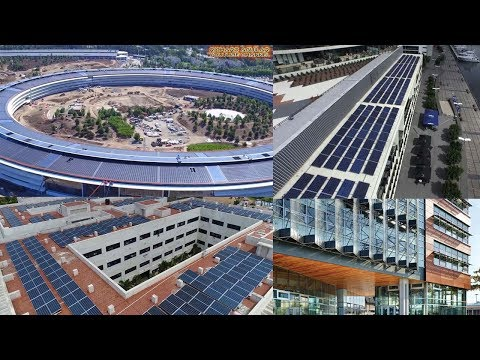 The Rise of Renewable Energy! Large Buildings and Skyscraper Integration of Solar Panel System