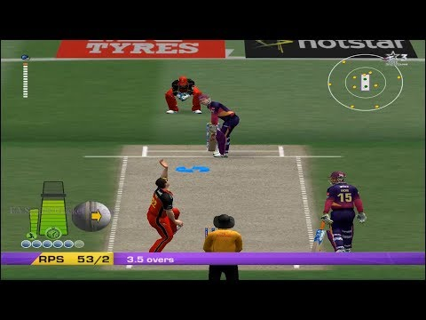 Rising Pune Supergiant v Royal Challengers Bangalore 10 Overs Match Part 1 - EA CRICKET 18