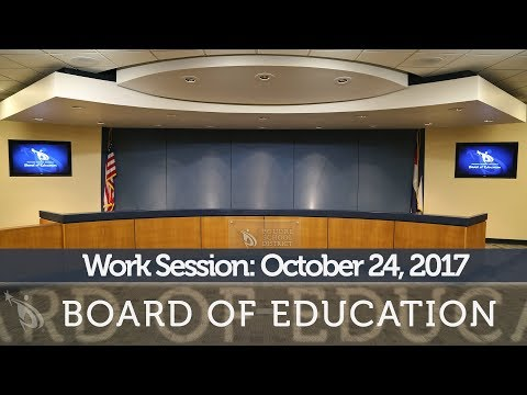 Work Session: October 24, 2017