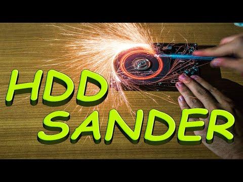 How To Make Hard Drive(HDD) Sander/Sharpener