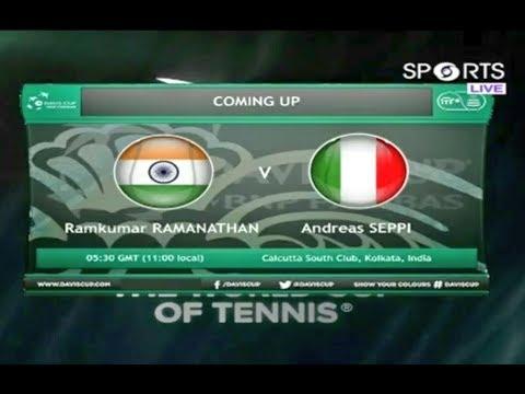 Ramkumar Ramanathan vs Andreas Seppi | Davis Cup Qualifier | #DavisCup2019