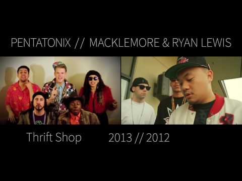 Thrift Shop - Pentatonix (Macklemore and Ryan Lewis cover) (Side By Side)